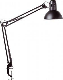 Lampka energooszczędna na biurko Maul Study, 60W, czarny