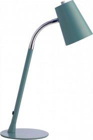Lampka na biurko Unilux Flexio 2.0 LED, niebieski