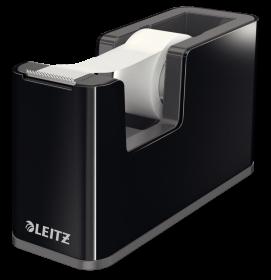 Podajnik do taśmy klejącej Leitz WOW, 19mmx33m, czarny
