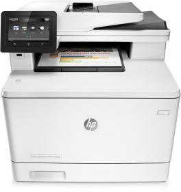 Urządzenie wielofunkcyjne HP MFP Color LaserJet Pro M477fdn A4, z drukarką, kopiarką, skanerem i faksem, kolor