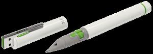 Wskaźnik z długopisem Leitz, Complete Pro 2 Presenter Stylus, biały