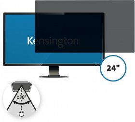 Filtr prywatyzujący do monitorów Kensington, 16:10, 24