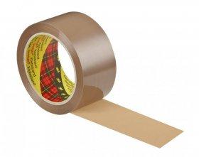 Taśma pakowa Scotch (S5066F6), akrylowa, 50mmx66m, brązowy