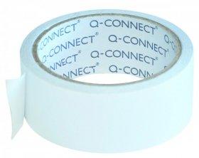 Taśma dwustronna Q-Connect, 38mmx10m, transparentny