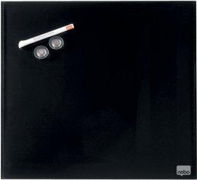 Tablica szklana Nobo, Diamond, 30x30cm, czarny
