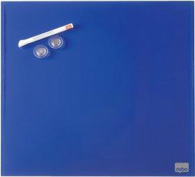 Tablica szklana Nobo, Diamond, 30x30cm, niebieski