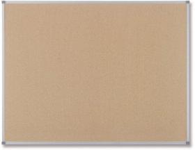 Tablica korkowa Nobo Classic, w ramie aluminiowej, 150x120cm, brązowy