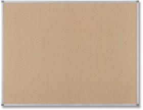 Tablica korkowa Nobo Classic, w ramie aluminiowej, 60x45cm, brązowy