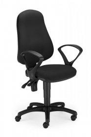 Krzesło obrotowe Nowy Styl Bertold, czarny