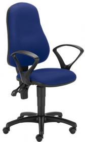 Krzesło obrotowe Nowy Styl Bertold, granatowy