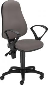 Krzesło obrotowe Nowy Styl Bertold, szary