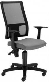 Krzesło obrotowe Nowy Styl Cooper Mesh, szary