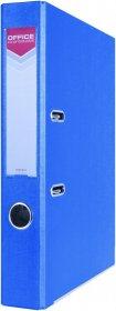 Segregator Office Products Officer, z szyną, A4, szerokość grzbietu 5.5cm, niebieski