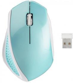 Mysz bezprzewodowa Hama AM-8400, optyczna, miętowo-niebieski