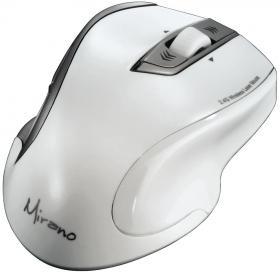 Mysz bezprzewodowa Hama Mirano, laserowa, biały