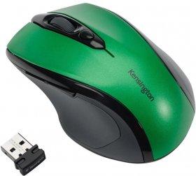 Mysz bezprzewodowa Kensington, Pro Fit, rozmiar średni, zielony