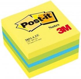 Notes samoprzylepny Post-it, 51x51 mm, 400 karteczek, cytrynowy