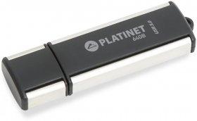 Pendrive Platinet X-DEPO, 64GB, USB 3.0, czarny