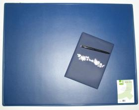 Podkładka na biurko Q-Connect, 63x50cm, niebieski