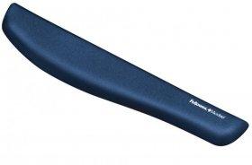 Podkładka przed klawiaturę Fellowes PlushTouch™, 475x62x15mm, niebieski