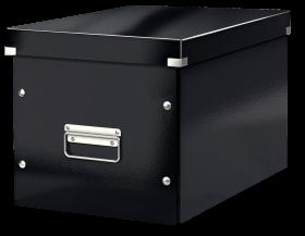 Pudło uniwersalne Leitz Click&Store, rozmiar L (320x310x360mm), czarny