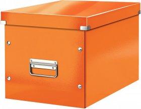 Pudło uniwersalne Leitz Click&Store, rozmiar L (320x310x360mm), pomarańczowy