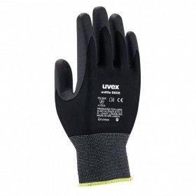 Rękawice ochronne Uvex Unilite, rozmiar 9, czarny