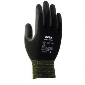 Rękawice ochronne Uvex Unipur, rozmiar 8, czarny