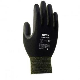 Rękawice ochronne Uvex Unipur, rozmiar 9, czarny