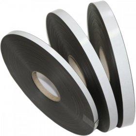 Taśma magnetyczna, samoprzylepna, 25.4mmx1mx1.5mm