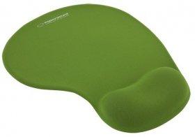 Podkładka żelowa pod mysz Esperanza, EA137G, 230x190x20mm, zielony