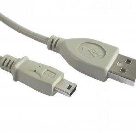 Kabel USB2.0 AM-AF LogiLink, przedłużacz, 2m, szary