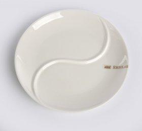 Naczynie/półmisek 2 - dzielne Altom Design Regular, 25cm, porcelana, kremowy