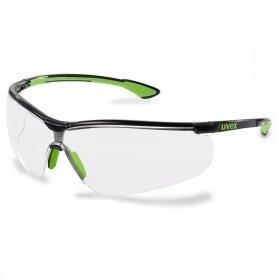 Okulary ochronne Uvex Sportstyle, filtr UV, bezbarwny