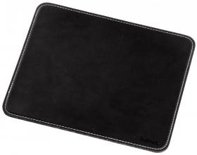 Podkładka pod mysz Hama Mouse Pad with Leather Look, 220x180x3mm, czarny