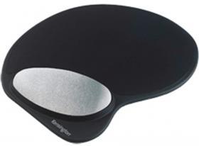 Podkładka żelowa pod mysz i nadgarstek Kensington, zachowująca kształt, czarny