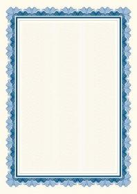 Dyplom Falbala Niebieska Galeria Papieru, 170g/m2, A4, 25 arkuszy