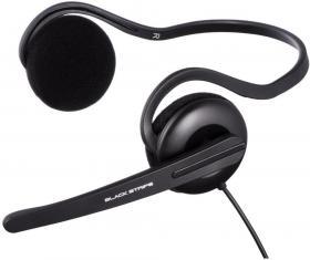 Zestaw słuchawkowy Hama Black Stripe, czarny