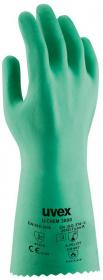 Rękawice ochronne Uvex U-chem 3000, rozmiar 10, zielony