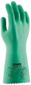 Rękawice ochronne Uvex U-chem 3000, rozmiar 7, zielony