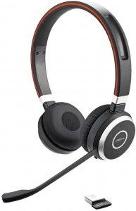 Słuchawki bezprzewodowe Jabra Biznes Evolve 65 UC Stereo (6599-829-409), czarny
