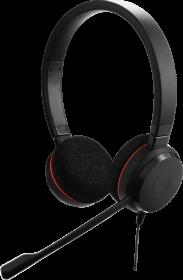 Słuchawki przewodowe Jabra Biznes Evolve 20, czarny