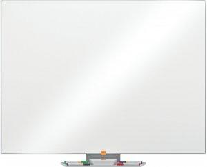Tablica suchościeralno-magnetyczna  Nobo, Classic, w ramie aluminiowej, ze stali lakierowanej, 120x90cm, biały