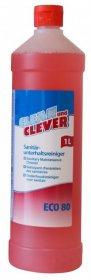 Środek do mycia sanitariatów ECO 80 Clean&Clever, 1l
