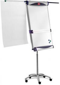 Flipchart mobilny Nobo Classic, magnetyczna, 70x100cm, srebrny