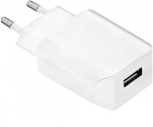 Ładowarka sieciowa USB LogiLink, 5W, biały