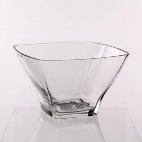 Salaterka szklana Hrastink Stephanie, 18cm, przezroczysty