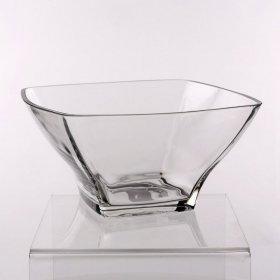 Salaterka szklana Hrastnik Stephanie, 24cm, przezroczysty