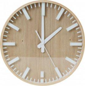 Zegar ścienny Platinet Yesterday, 31.3cm, tarcza kolor drewniany, obudowa kolor drewniany