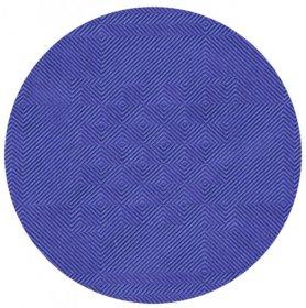 Obrus papierowy w rolce Bagstar, 1.2mx8m, wytłoczenie damaszkowe, ciemny niebieski